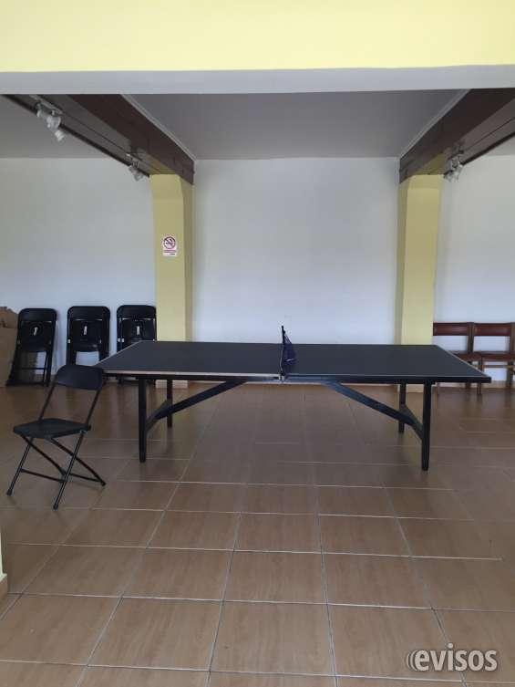 Sala de juegos mesa ping pong