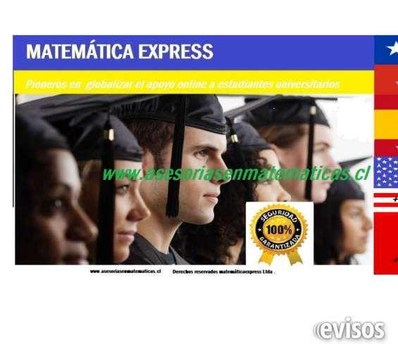 Tareas o controles de matemáticas , física y de la iacc