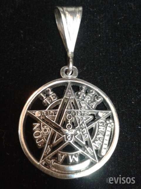 Tetragramatón colgante de plata merced 738 local 211.f:84385173