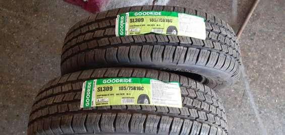 2 neumáticos goodride 185/75/16 nuevos.