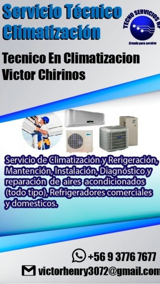 Tecnico en climatizacion y refrigeracion