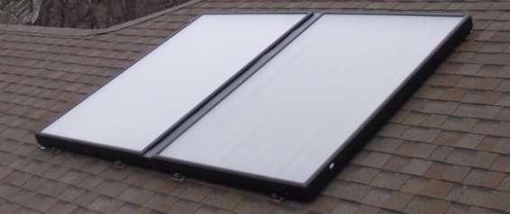 Instalación de paneles solares térmicos