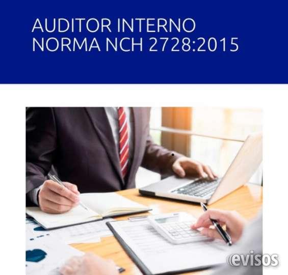 Auditoría interna para organismo técnicos de capacitación