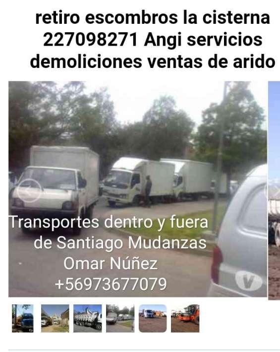 Mudanzas en ñuñoa fletes+56973677079 retiro escombros