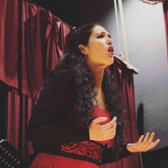 Cantante lirica soprano: ofrezco servicios en ceremonias, matrimonios, eventos