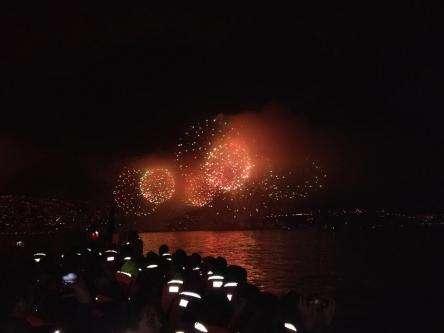 Año nuevo en el mar valparaiso / viña del mar 2020, valparaiso