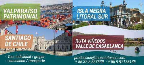 Giras y viajes de estudio valparaiso // viña del mar // pucon/, valparaiso