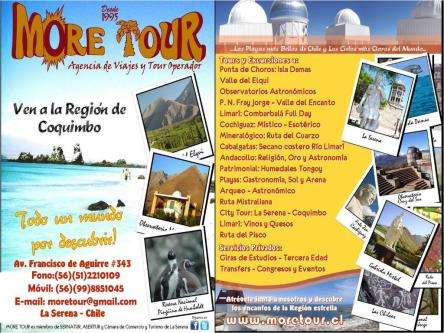 Tour en la serena chile more tour agencia de viajes