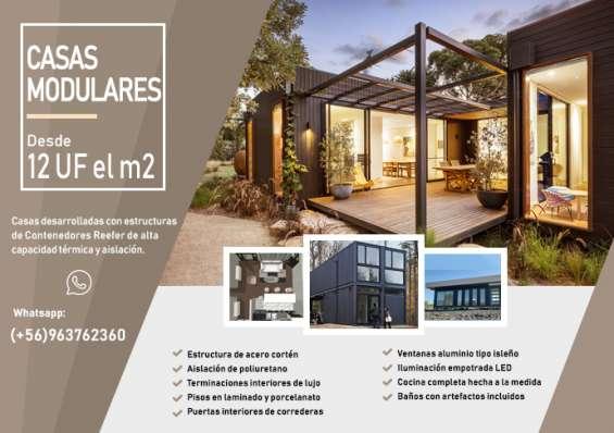 Casas modernas prefabricadas modulares