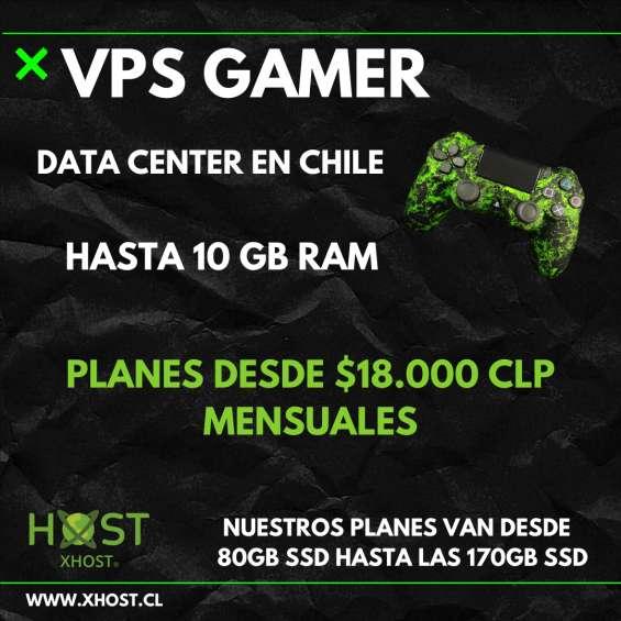 Vps gamer servidor virtual