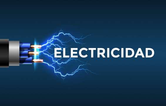 Servicio eléctrico certificado 24 hrs