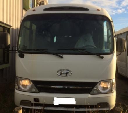 Se vende bus hyundai county 25 dlx 2013
