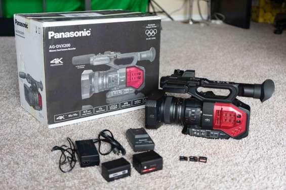 Nuevo panasonic ag-dvx200 - ag-cx350 4k professional camcorder