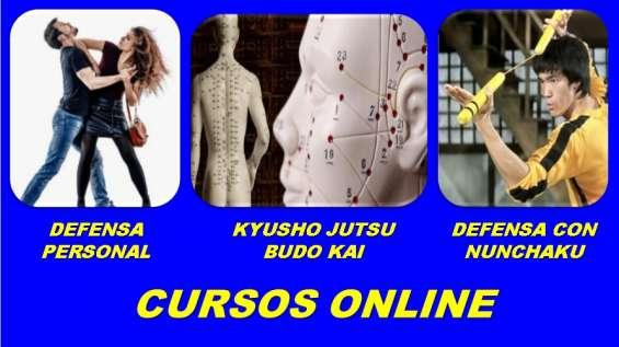 Cursos online de defensa personal, nunchaku y kyusho jutsu