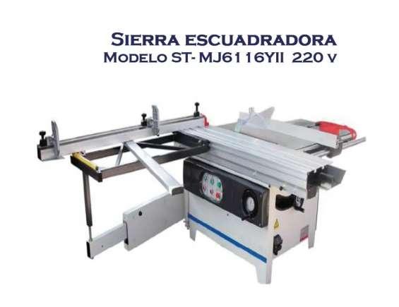 Sierra escuadradora st-mj61 16yii 220 nada de uso