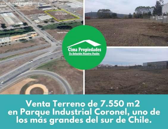 Terreno en la entrada del parque coronel 7550 m2