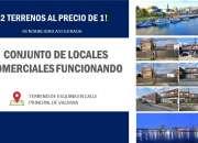 CONJUNTO DE LOCALES FUNCIONANDO