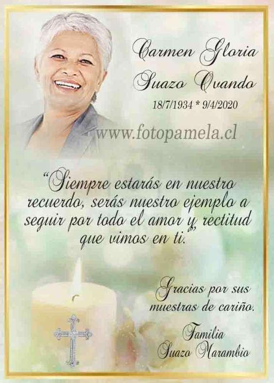 Condolencias aniversario tarjetas invitacion