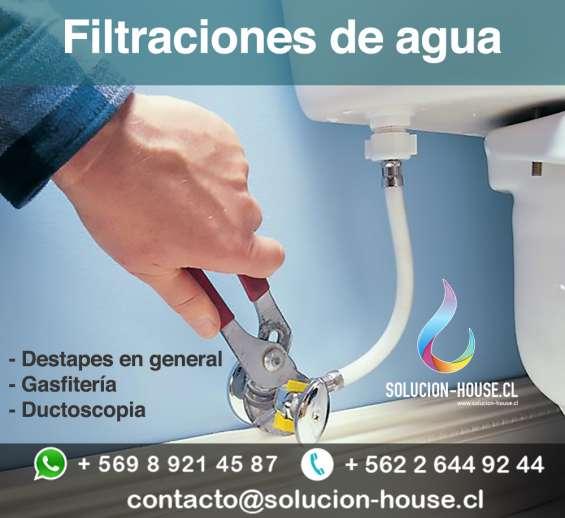 Deteccion de filtraciones de agua lo barnechea