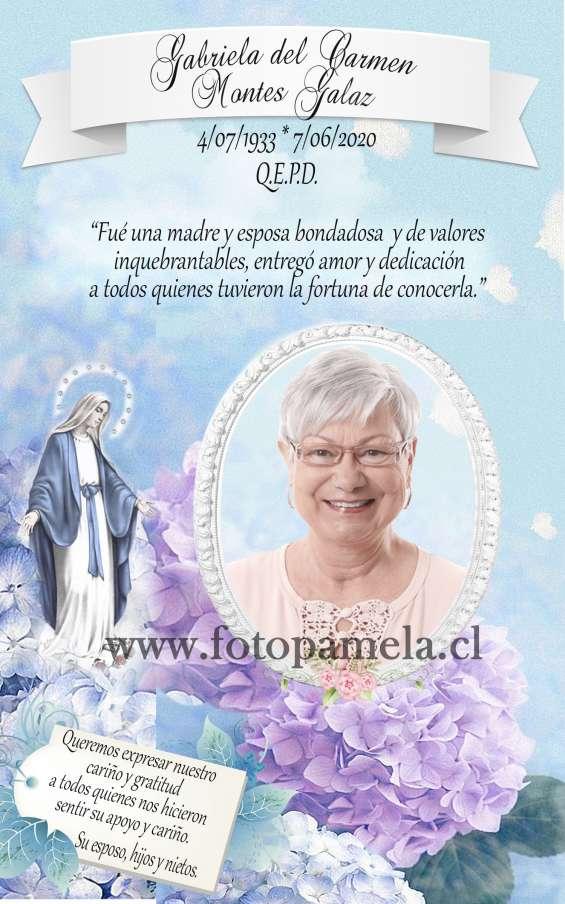 Condolencias tarjetas para misas conmemoracion