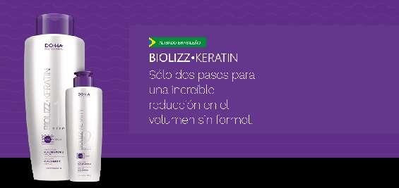 Biolizz keratin, keratina brasileña, alisado brasileño, queratina
