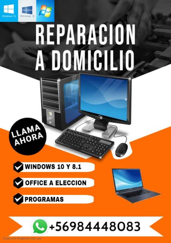 Servicio tecnico de computadores, pc, notebook a domicilio